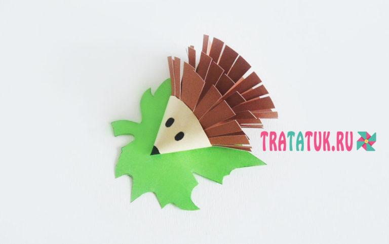 Поделки оригами ежики 87