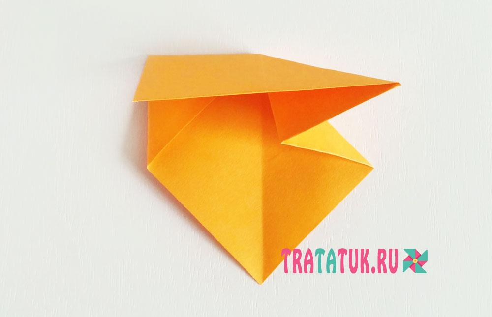 Поделки оригами ежики 15