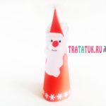 Дед Мороз из бумаги: просто, интересно и быстро