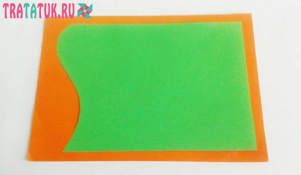 3Д открытка с цветами своими руками