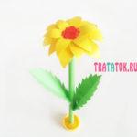 Бумажный цветок своими руками для мамы