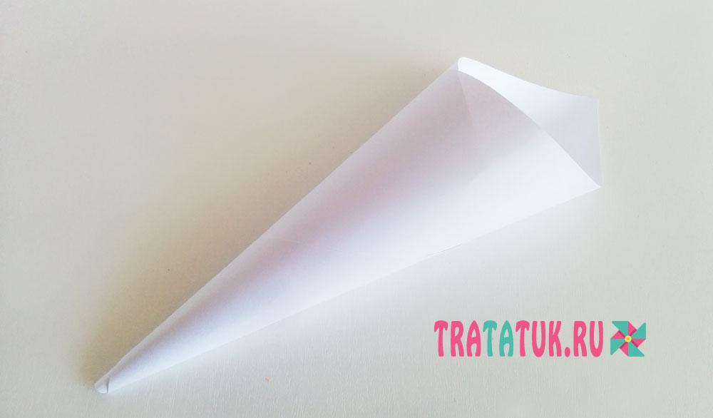 Привидение из бумаги
