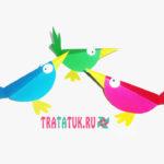 Яркие разноцветные птички из бумаги: поделки из кругов