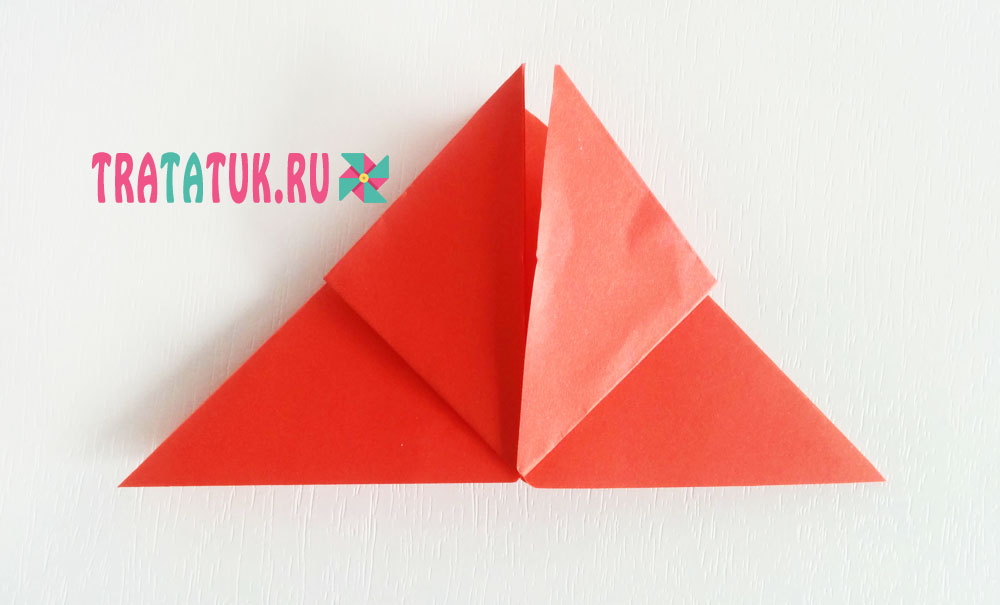 Бабочка оригами