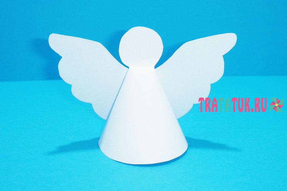 Ангелочки из бумаги своими руками шаблоны распечатать фото 758