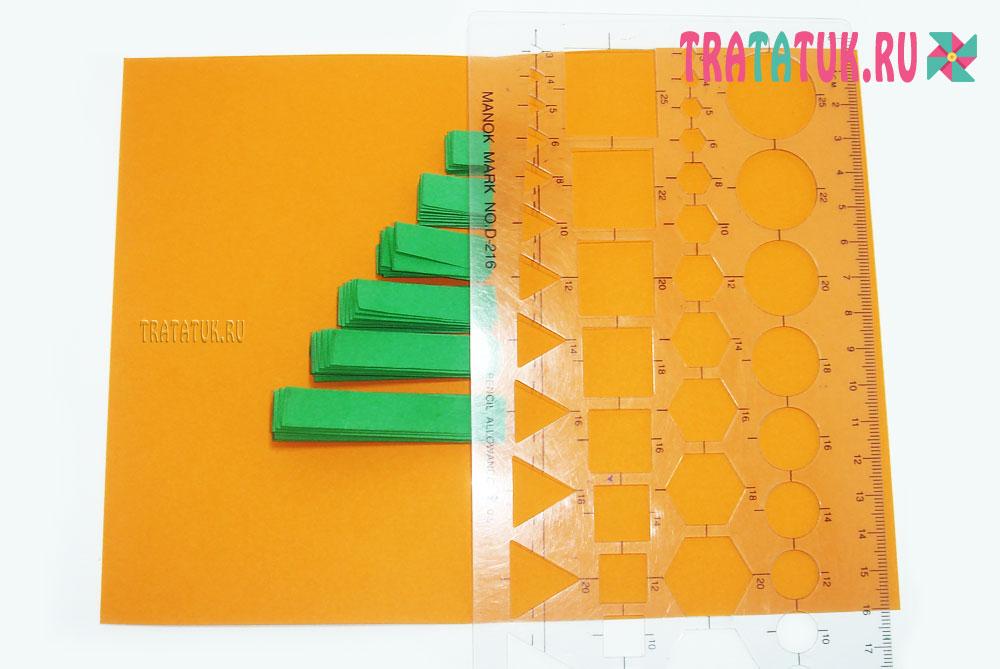 Открытки гармошка из бумаги