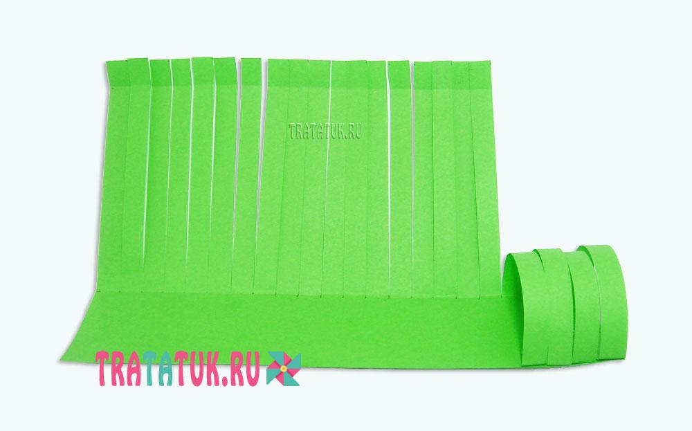 Бумажная гусеница
