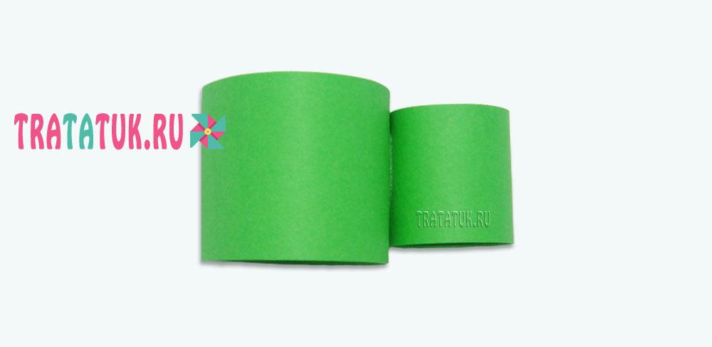 Лягушка из бумажных рулонов