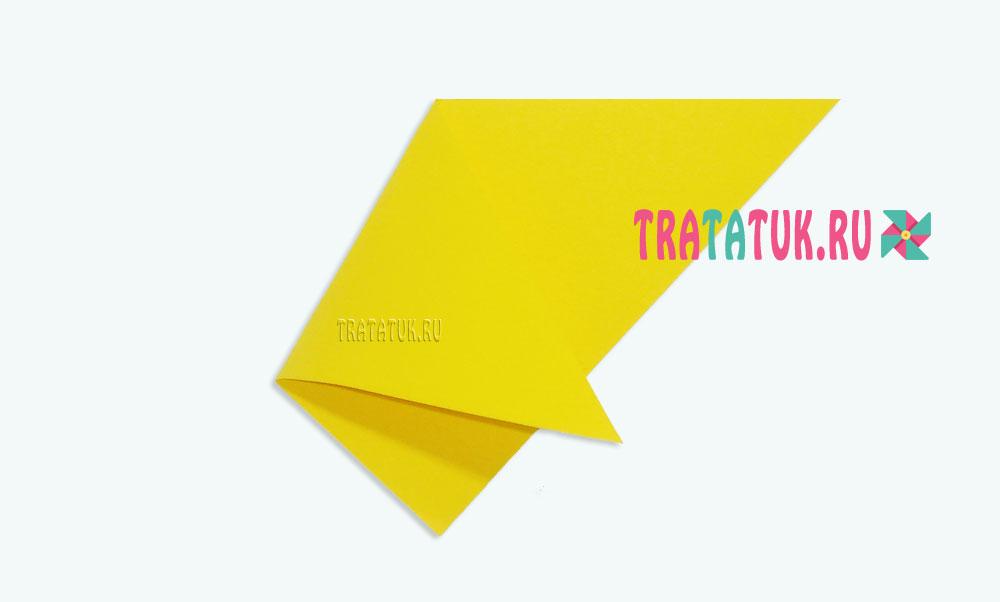 Пасхальная курочка из бумаги