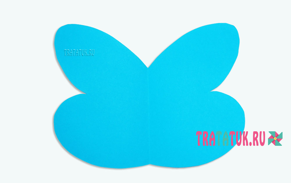 Бабочка из конуса