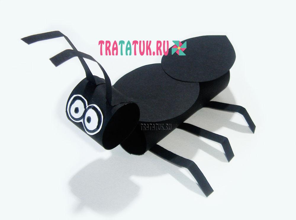 муравей из бумаги