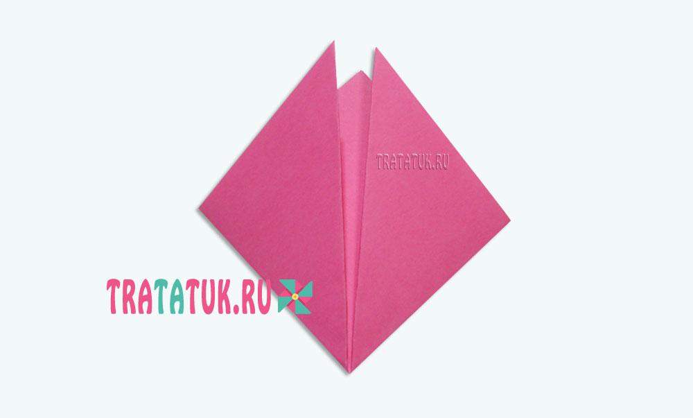Оригами поросенок