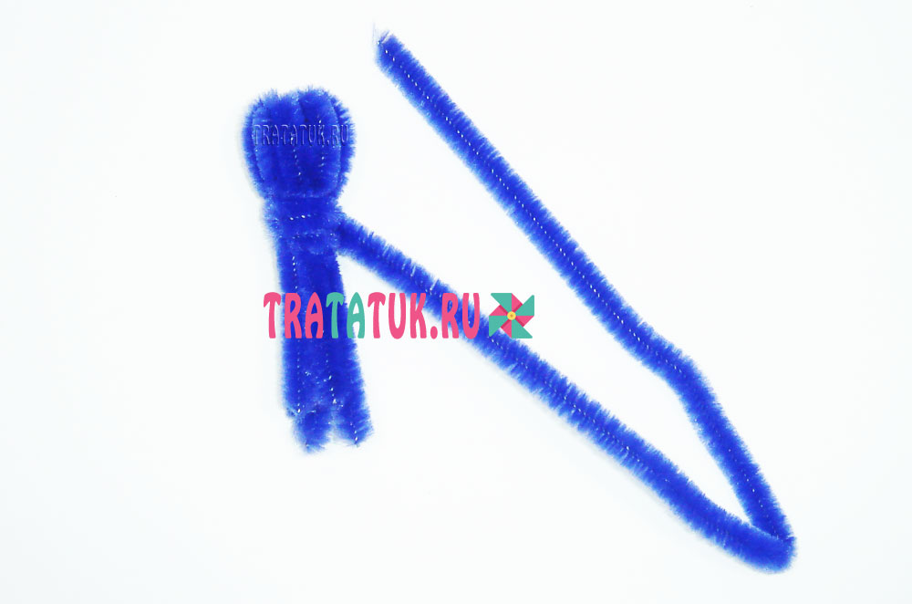 Осьминог из синельной проволоки