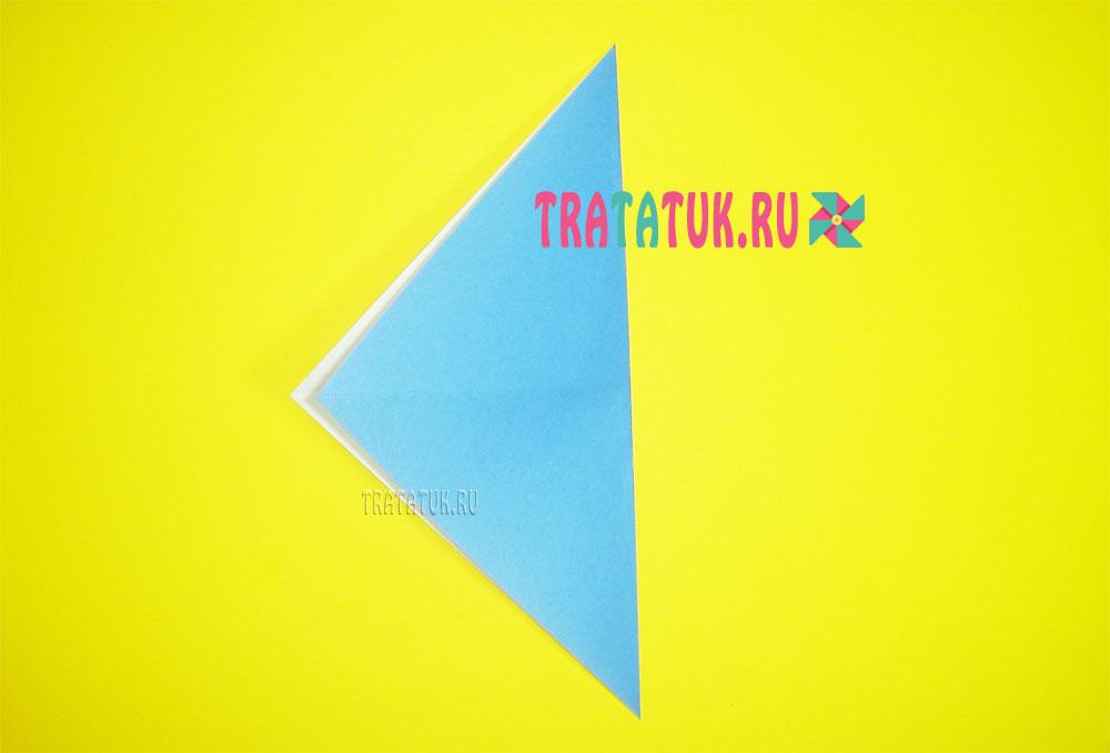 Оригами голубь