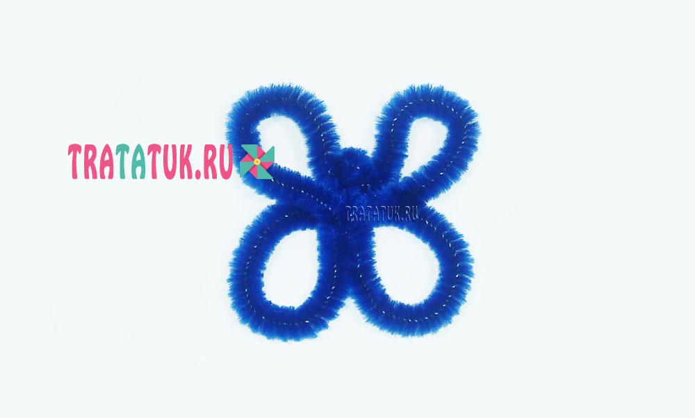 Бабочка из синельной проволоки
