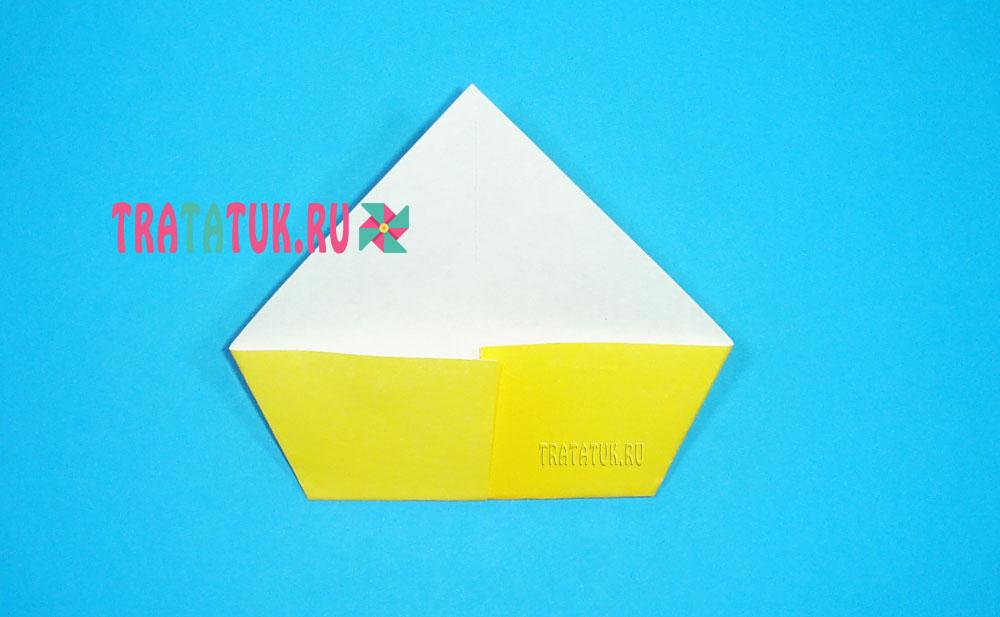Оригами петух