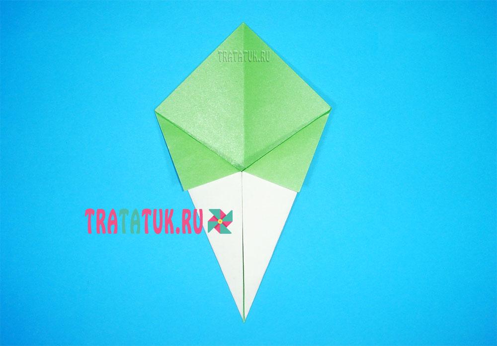Оригами дерево
