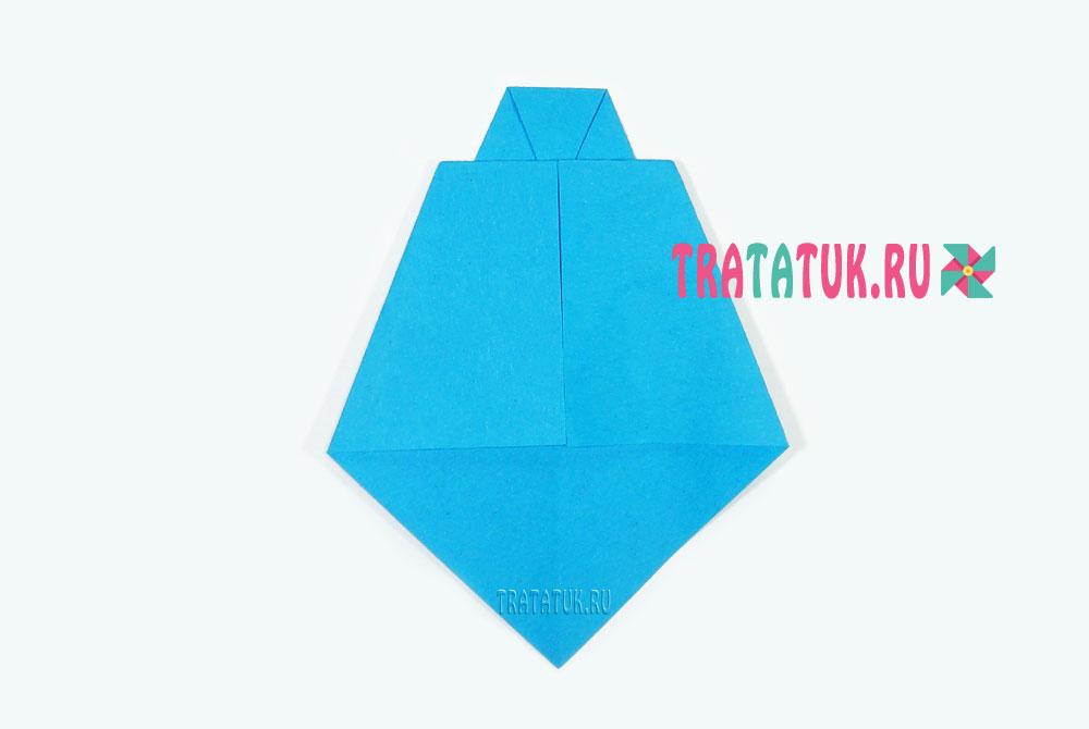 Оригами галстук своими руками