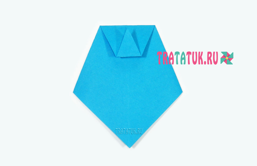 галстук из бумаги