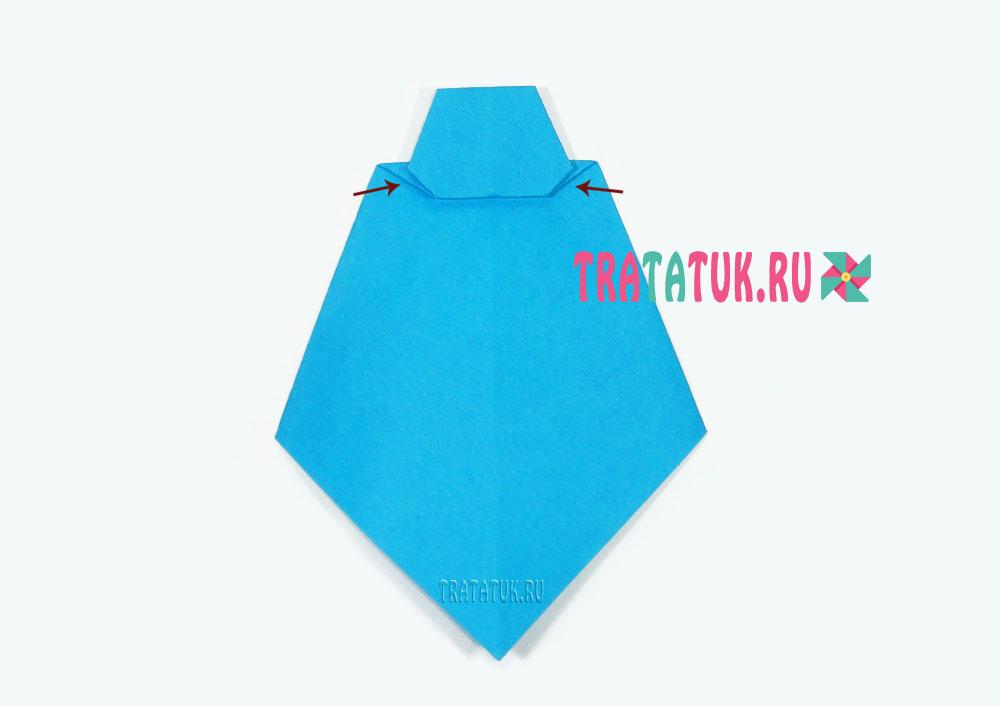 Оригами галстук
