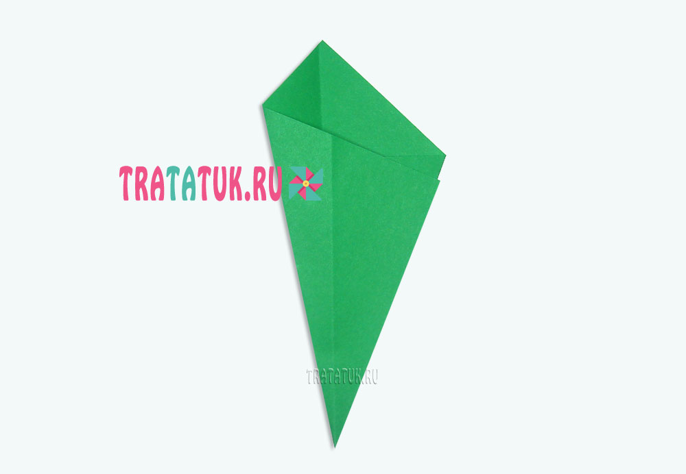 Одуванчик оригами для детей