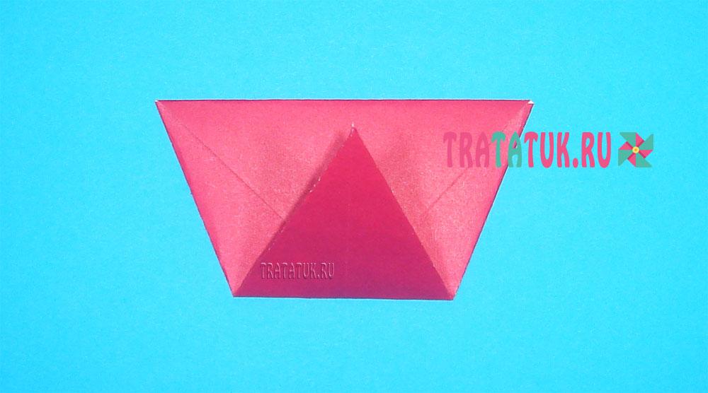 Оригами девочка