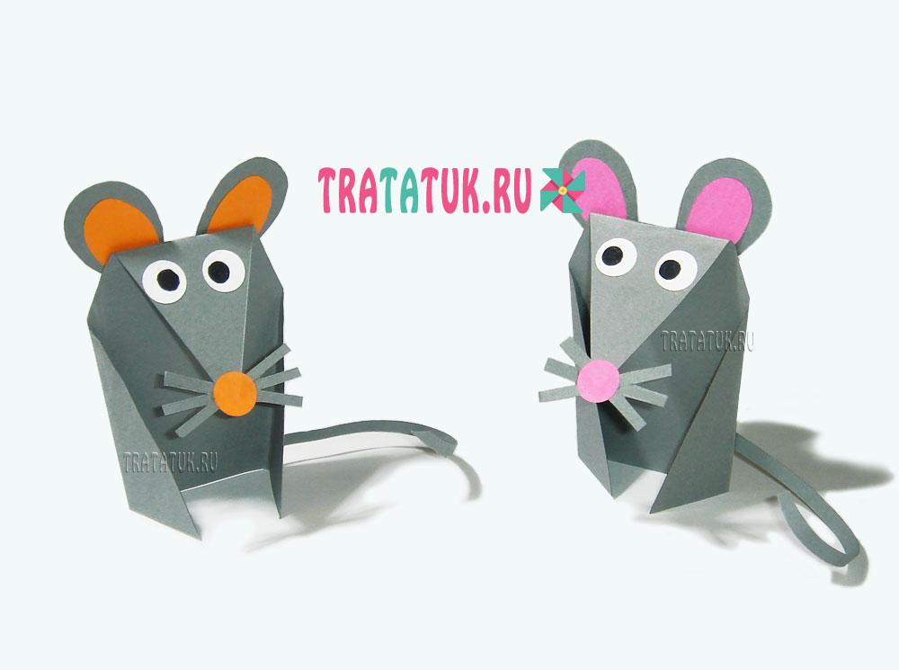 поделка крысы