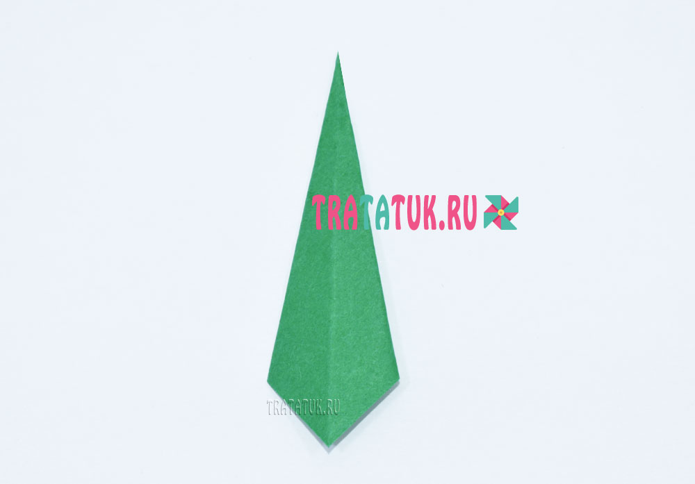 оригами рябина
