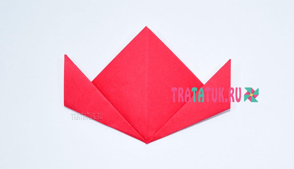 Гвоздика оригами