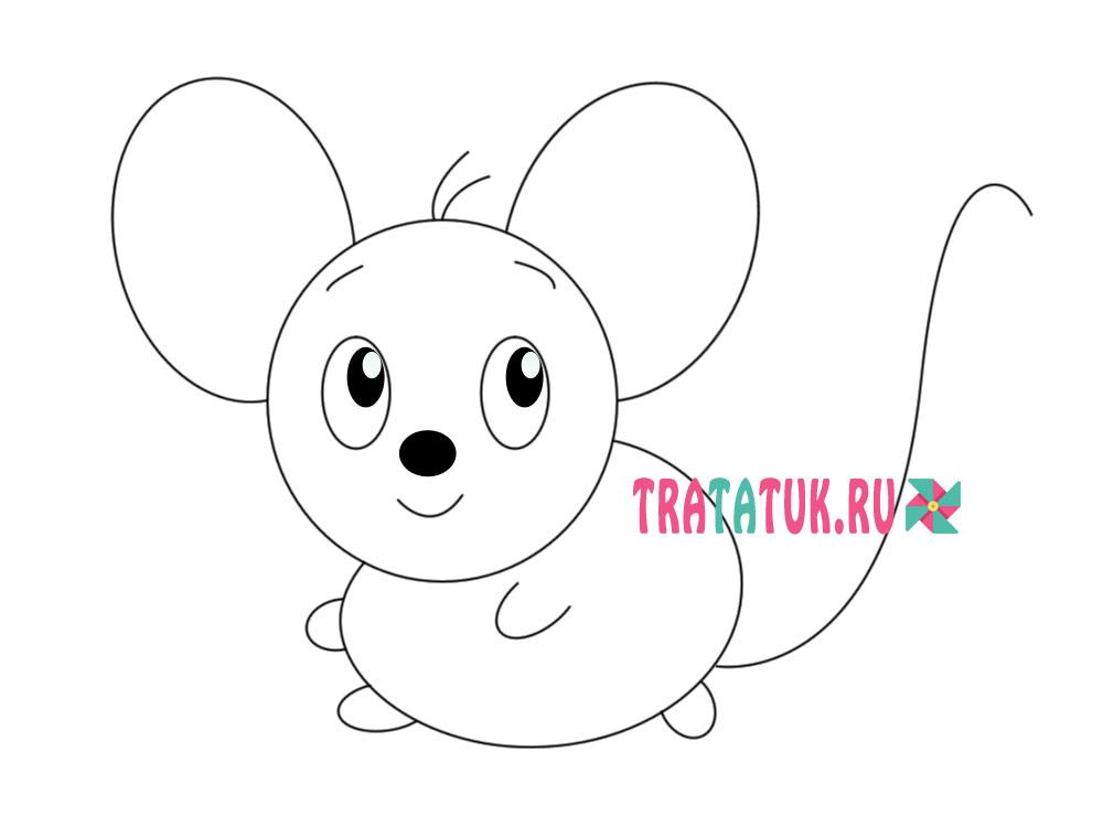 рисунок мышки