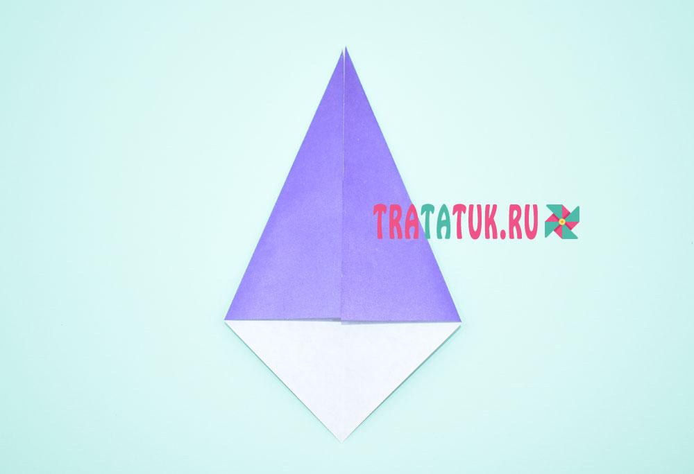 Оригами ведьма