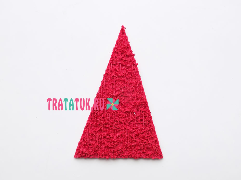 Дед Мороз из фоамирана