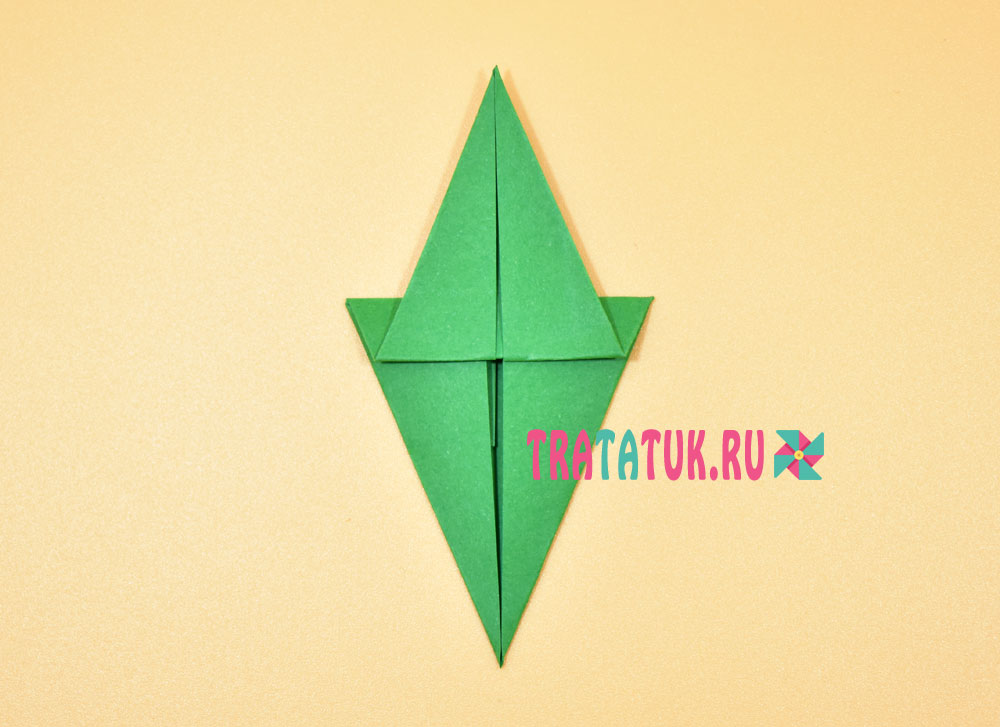 Елка оригами