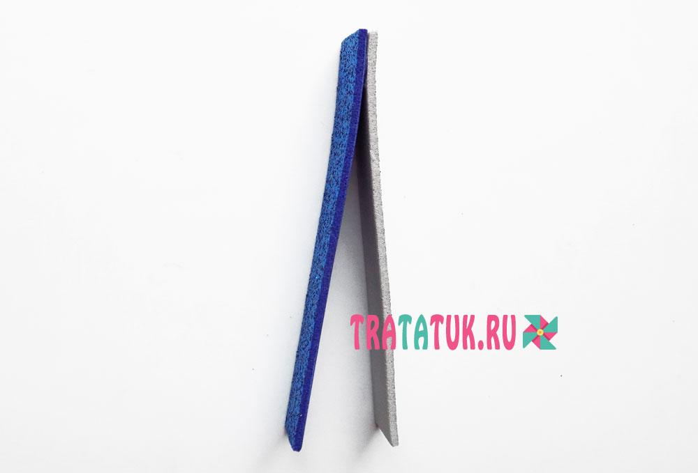 Елочная игрушка из фоамирана