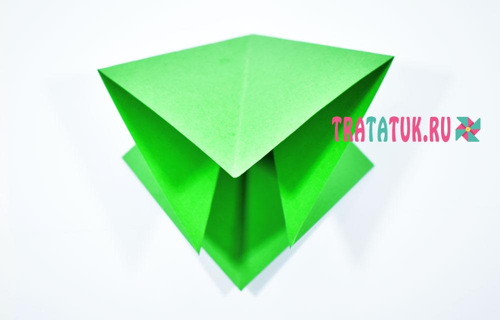 Оригами елка