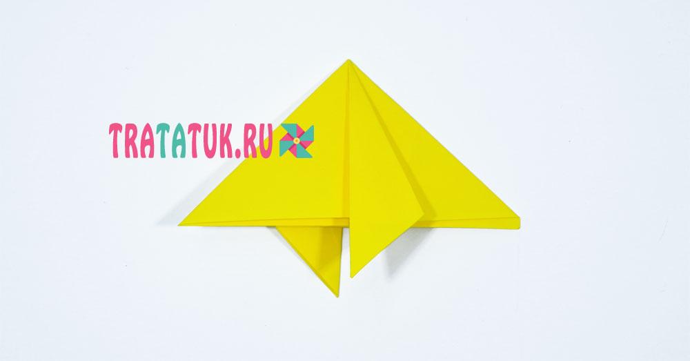 Оригами звезда