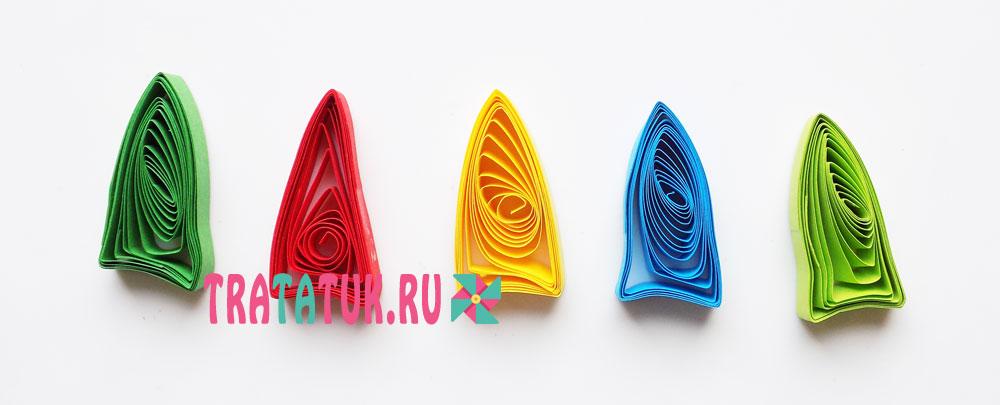 квиллинг зонтик