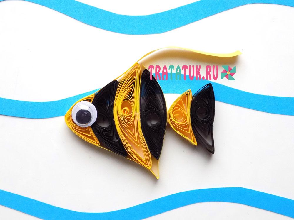 Рыбка квиллинг