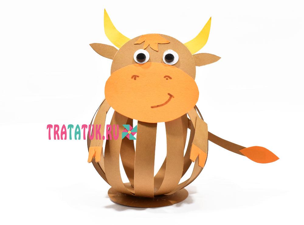 Поделка быка