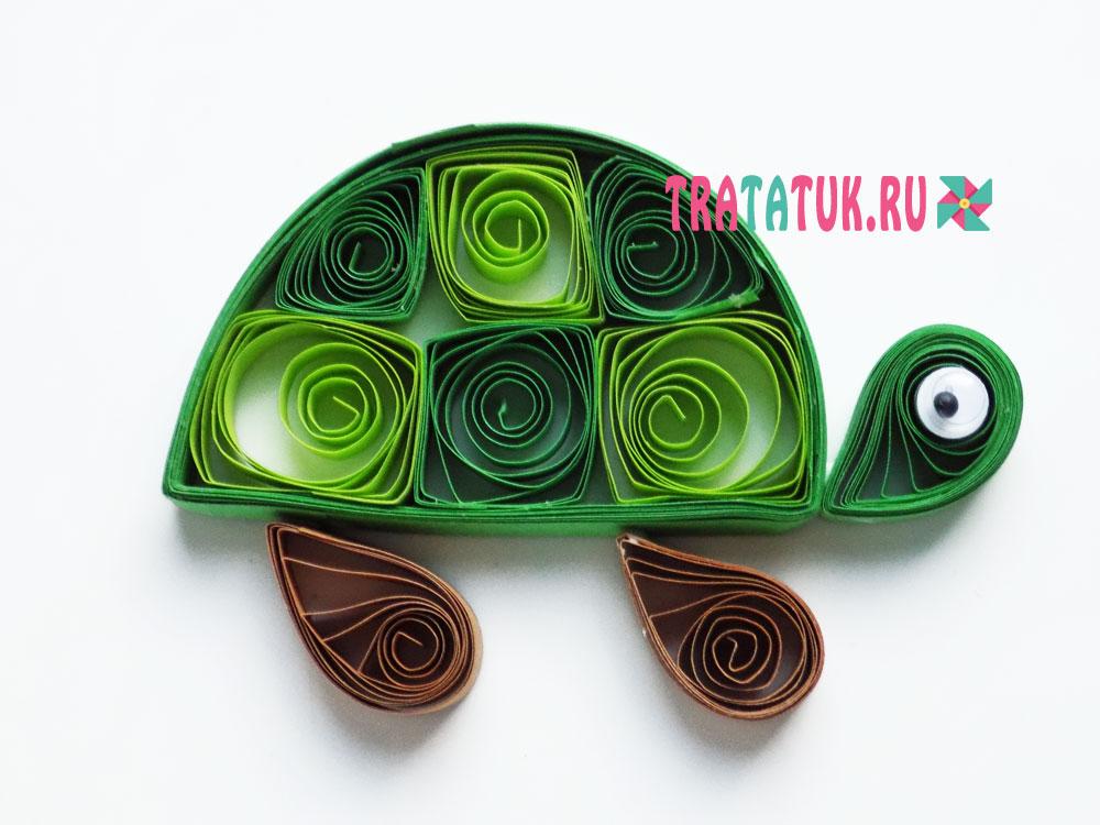 Черепаха квиллинг