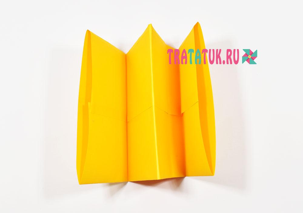 Игрушка-говорушка из бумаги