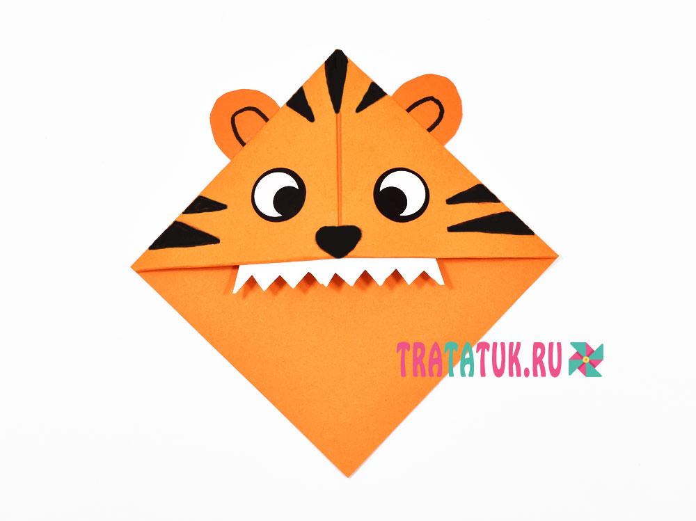 Закладка тигр