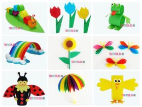 Весенние поделки: пошаговые идеи для детей всех возрастов